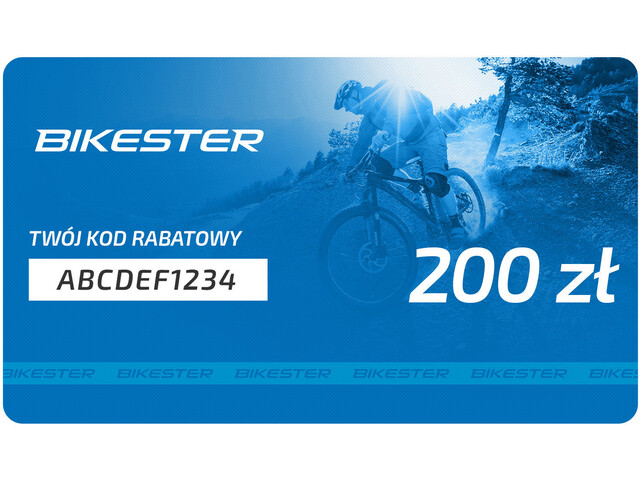 Bikester Karta upominkowa, 200 zł